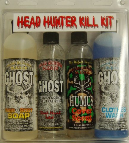 Head Hunters Ghost and Humus bath soap